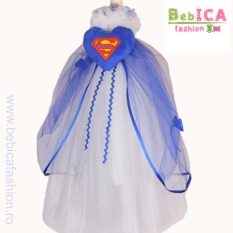 lumanare personalizata Superman