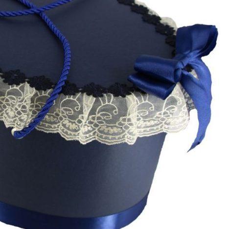 cutie trusou ovala bleumarin 2