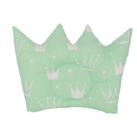 pernuta coroane, alb-verde