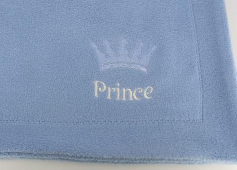 paturica baby plush, bleu Prince 1