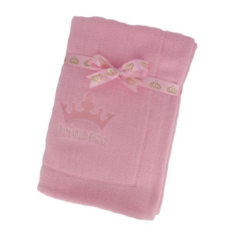 paturica baby plush, roz Princess 1