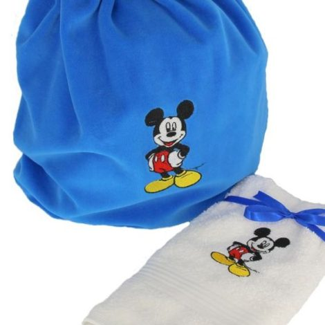 saculet gradinit personalizat Mickey Mouse