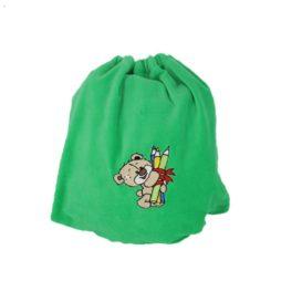 saculet gradinita ursulet verde