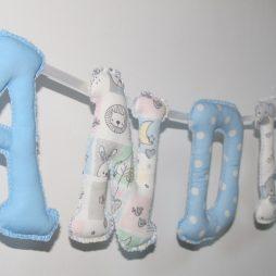 litere nume textile decorative andrei